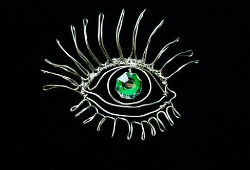 Evil Eye Brooch II