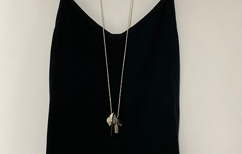 Chunky Lock and Key Necklace