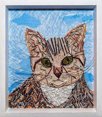 Millie, A Cat Portrait