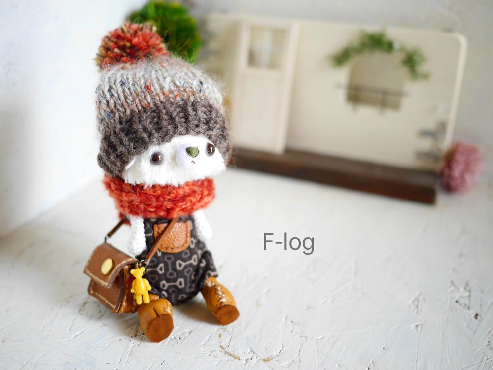ニット帽:メリヤス編み