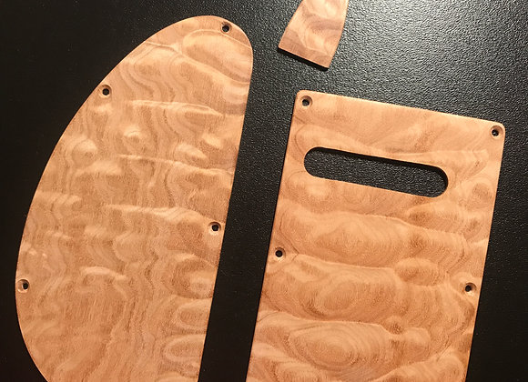 Kiesel/Carvin Backplate, Tremolo and Truss Set