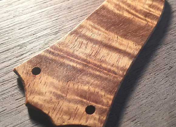 Taylor 3 Hole Flame Koa Truss Rod Cover