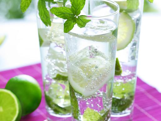 C'est l'été essayez les eaux aromatisées !