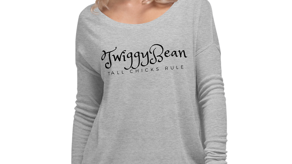 TwiggyBean signature Ladies' Long Sleeve Tee