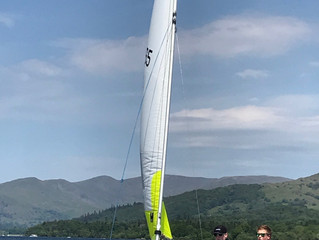 May Training in Windermere.