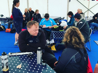 GBR Attend Blind Match Racing Clinic, Pre Blind Match Racing World Championships.