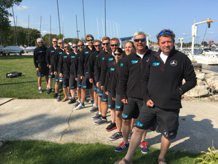 GBR Blind Sailing Get Off To a Solid Start at The Blind Fleet Racing Worlds.