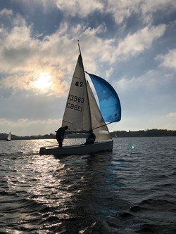 Playing Spinnakers