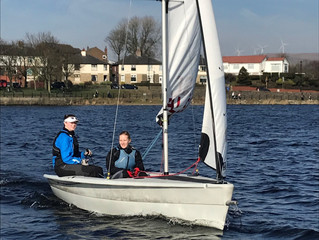 GBR Blind Sailing Winter Training Is A Big Success Thanks To Hollingowrth Lake Sailing Club.
