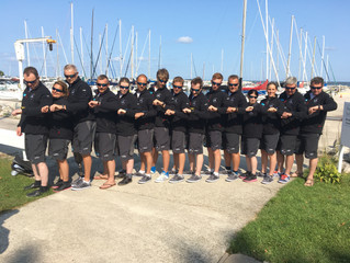 Great Britain Arrive In USA for the Blind Fleet Racing World Championships 2017.