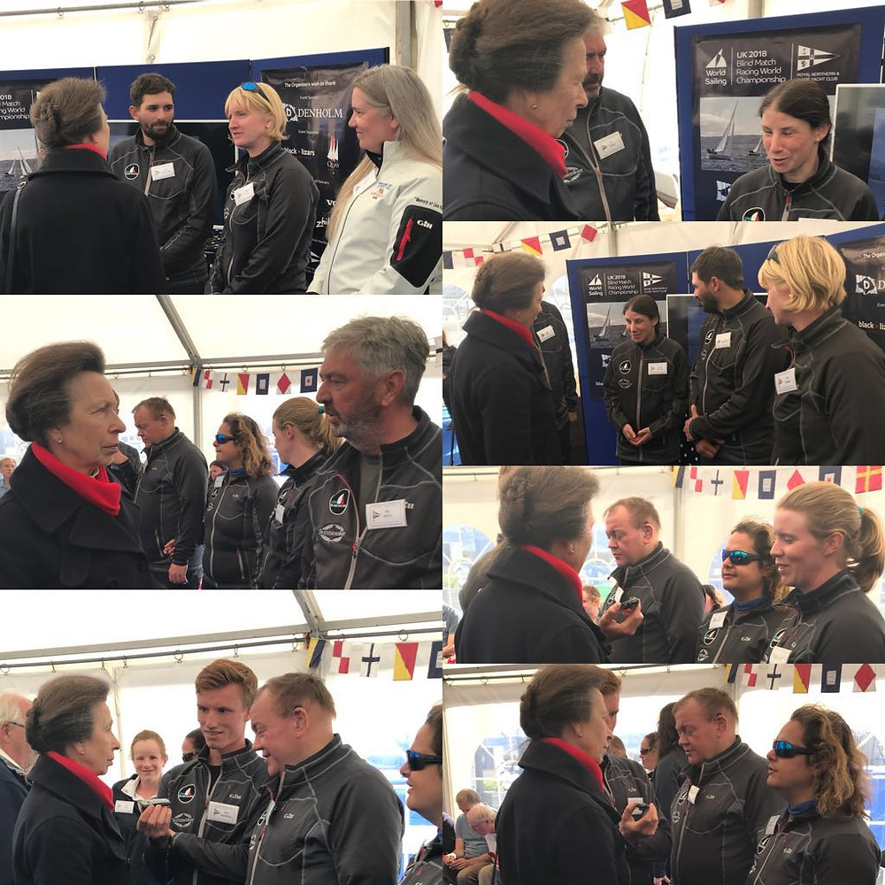 Clips from meeting Princes Anne