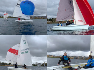 Winter Training at South Cerney Sailing Club