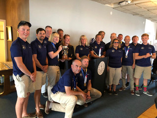 Great Britain Blind Sailing Team are 2019 World Champions.
