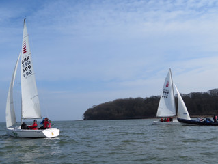 GBR Blind Sailing welcomed Ian Williams this weekend.