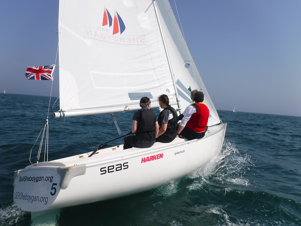 B1 GBR Team Enjoying There Great Day