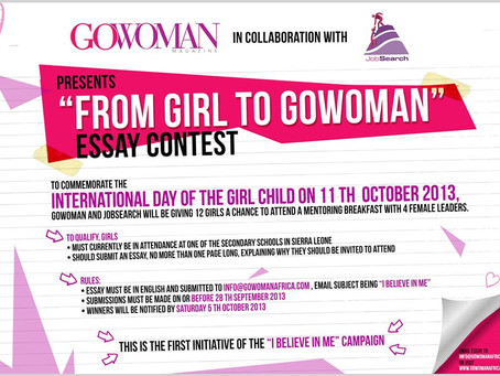 From Girl to GoWoman