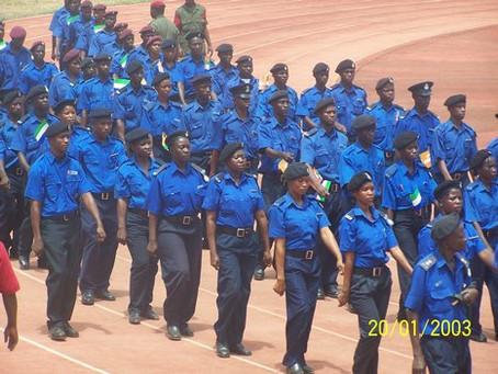 Skills development in Sierra Leone Police
