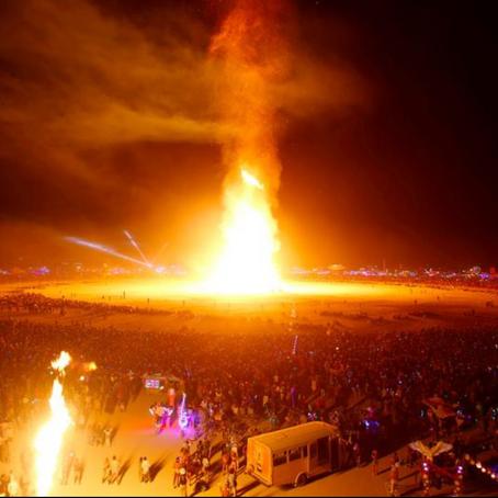 Temple Burn; Burning Man 2017
