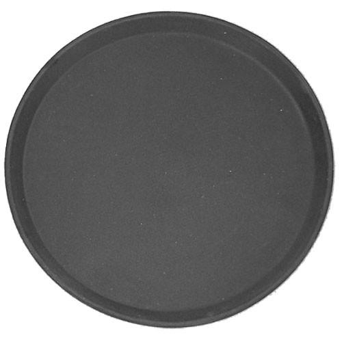 Black Non-Slip Round Fibreglass Tray 360mm