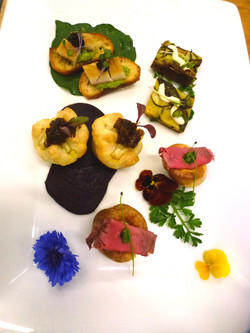 Canapes from Bond Event