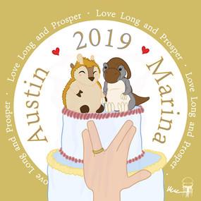 Wedding Card - 2019
