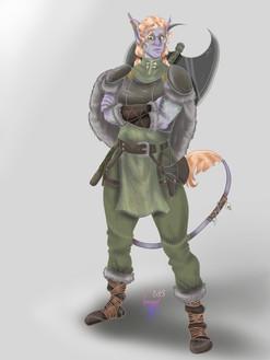 Kudzu Character Portrait 2020 - Full Body