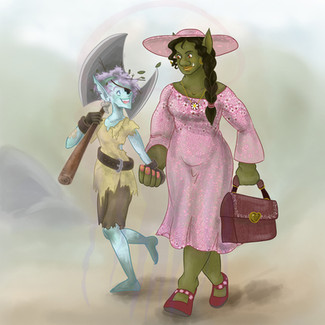Elf and Orc Wives - 2019