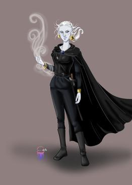 Zephyrine Character Portrait 2020 - Full Body