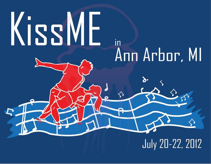 KissME in Ann Arbor Postcard Design Year 4 - 2012