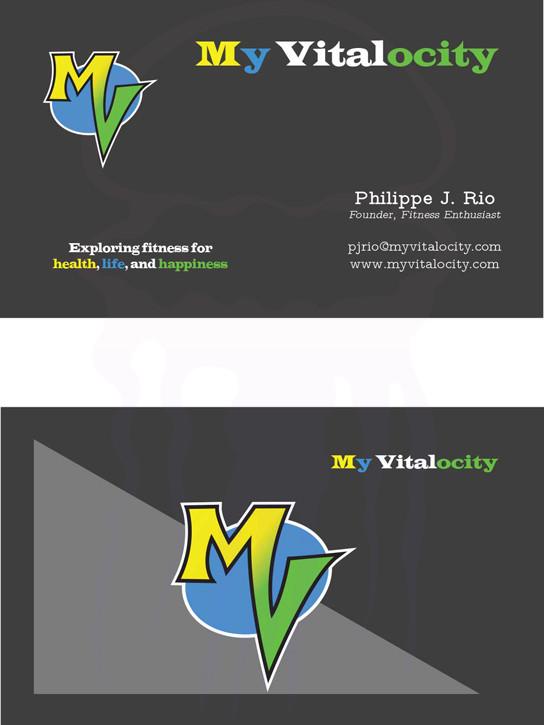 My Vitalocity Business Cards- 2011