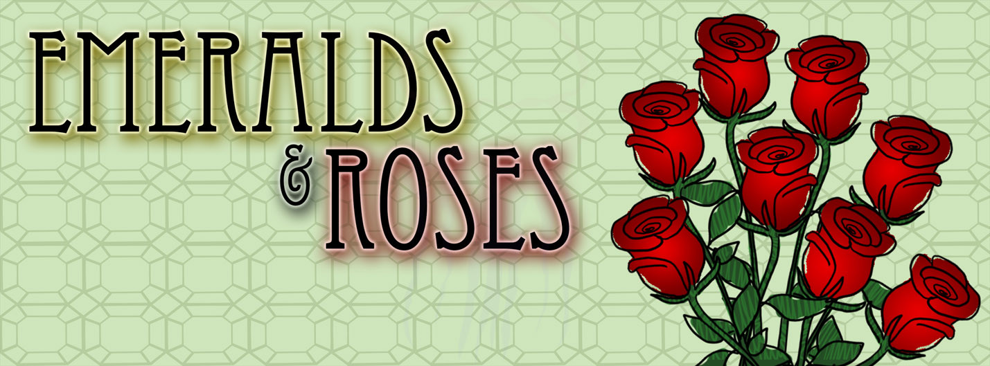 Emeralds and Roses Social Media Page Header - 2014