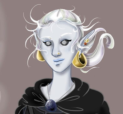 Zephyrine Character Portrait 2020 - Face Detail