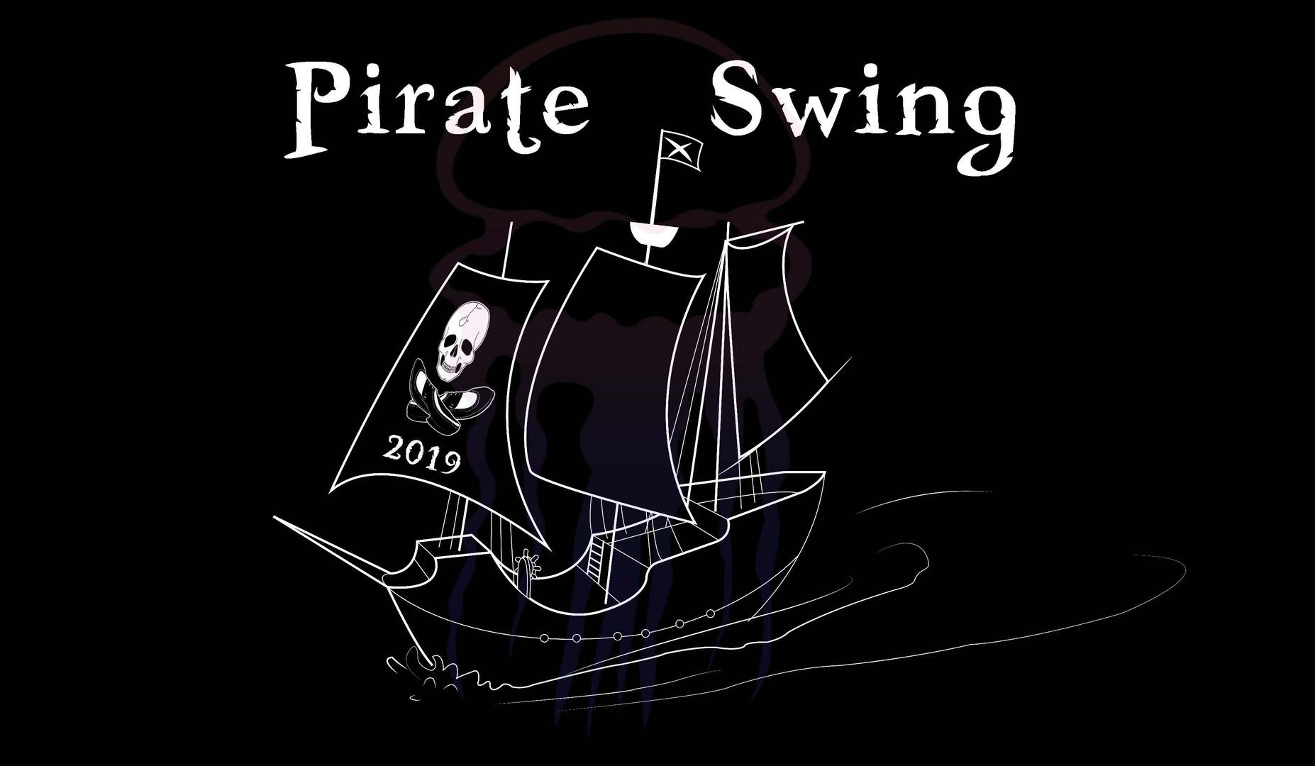 Pirate Swing logo Year 10 - 2019