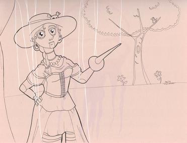 Inktober 2019 - Marionette