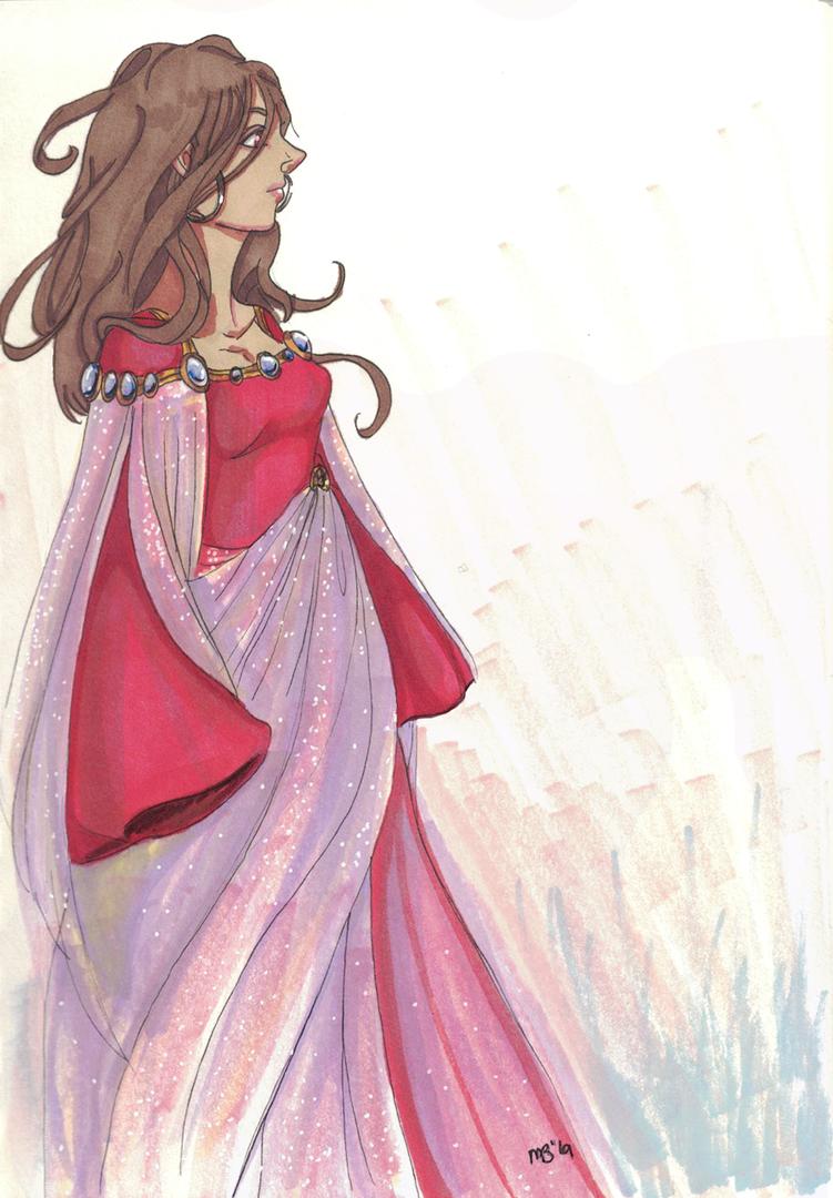 Inktober 2019  - Princess