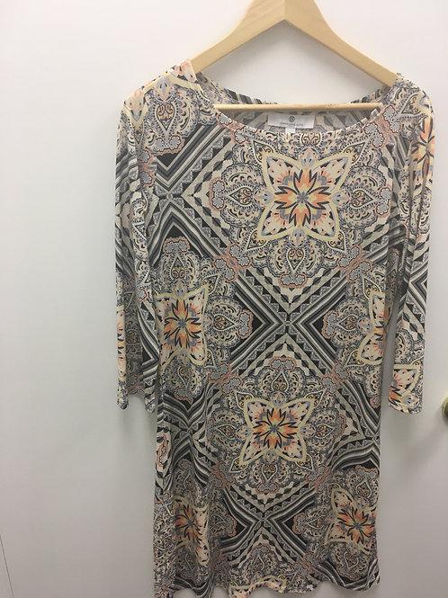 Jean Pierre Klifa Dress Tapestry Beige