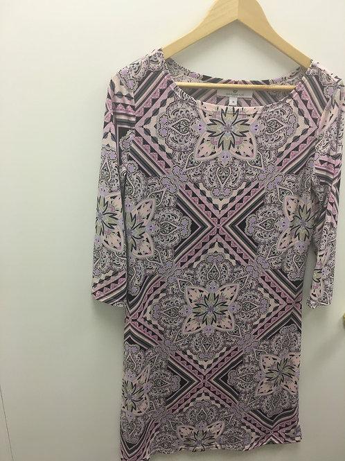 Jean Pierre Klifa Dress Tapestry Lavender