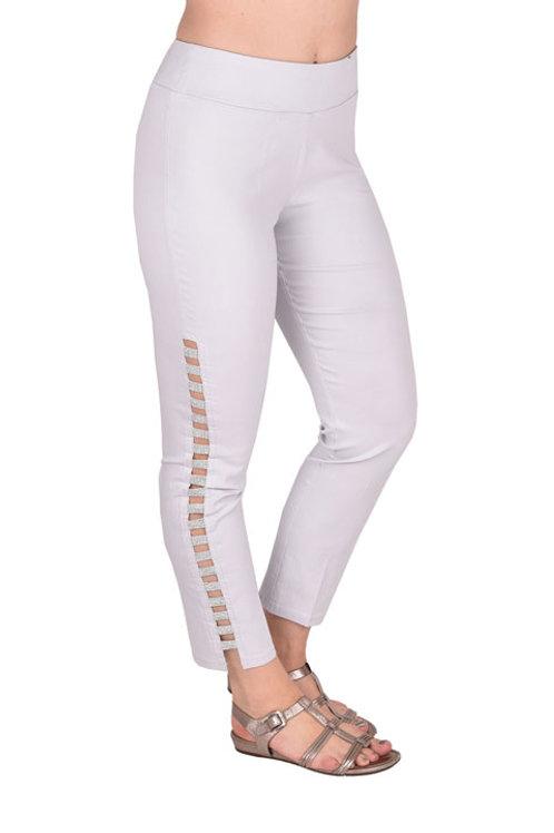 Pearl Gray Denim Pants