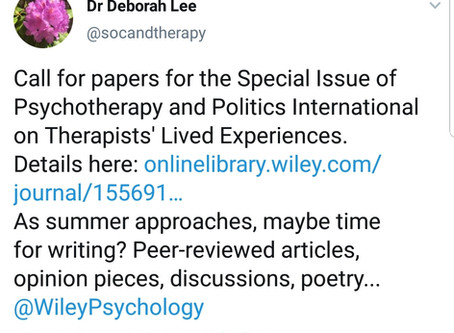 Calling all therapists with lived experience...