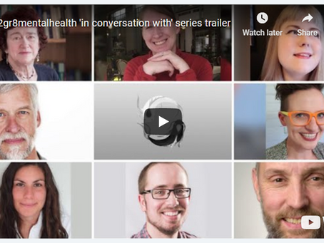 in2gr8mentalhealth Releases 'In Conversation With' Series Trailer