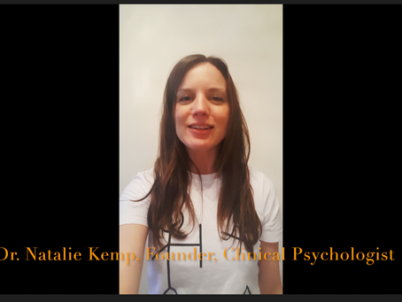 Hello from Natalie, Founder in2gr8mentalhealth, about me, us and our first meeting!