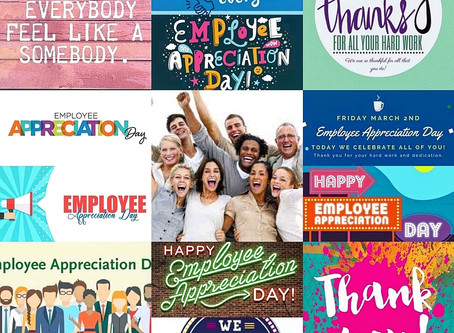 Employee Appreciation Day! INCLUDING those with lived experience of mental health difficulties!!
