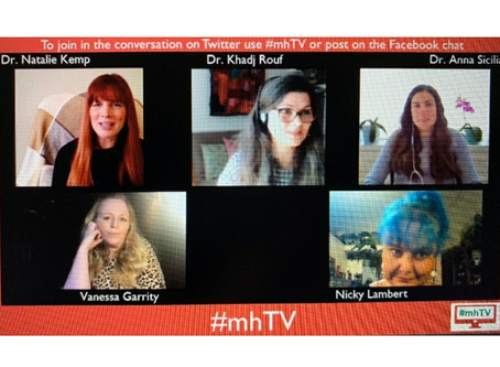 Natalie and Anna speak about moral injury and provider mental health stigma on mhTV