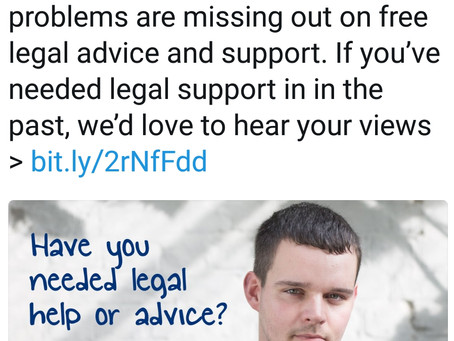 What legal advice and support is there for mental health professionals experiencing mental ill healt
