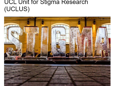 in2gr8ing the personal and the professional as a Research Fellow at UCL Unit for Stigma Research