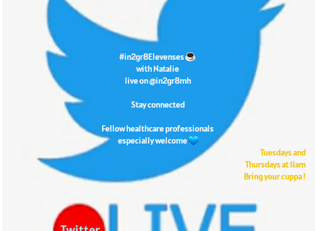 Updated: #in2gr8Elevenses Live on Twitter