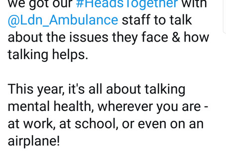 On the eve of #TimeToTalk day - to mental health service providers...
