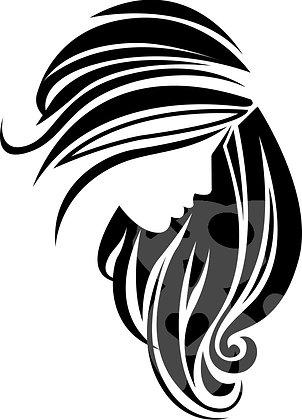Girl Hair Vector Image
