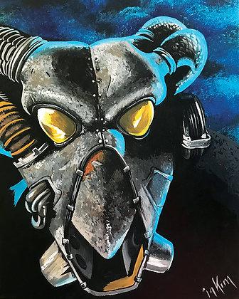 Fallout #2 Canvas Print