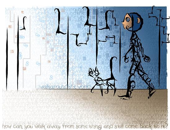 Coraline Digital Print